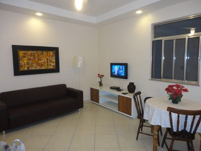 Photo for Apartment with sea view, 24 hours security, near Copacabana Palace
