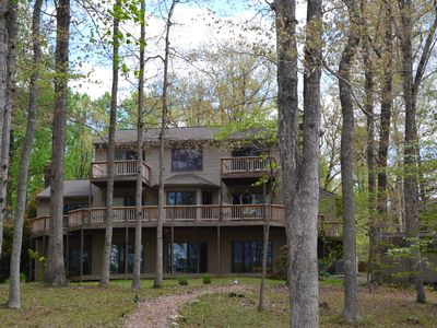 Photo for Lake Anna, PUBLIC Side, Waterfront, Cove, 4,900' home, 5 BD, 3+ BA, 1,600' Dock