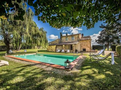Photo for Villa in Greve in Chianti with Internet, Pool, Air conditioning, Parking (697223)