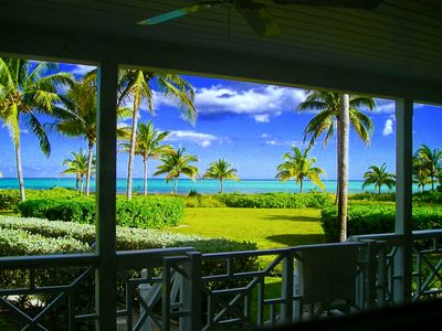 Photo for Beautiful House Right On The Beach, very private neighborhood with pool & tennis