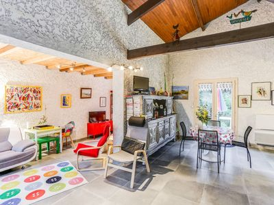 Photo for Wonderful private villa for five people with pool, WIFI, TV and parking