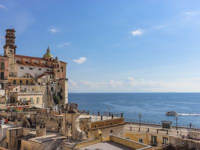 Photo for LivingAmalfi: Siren 2 apartment in Atrani, with sea view and close to the beach