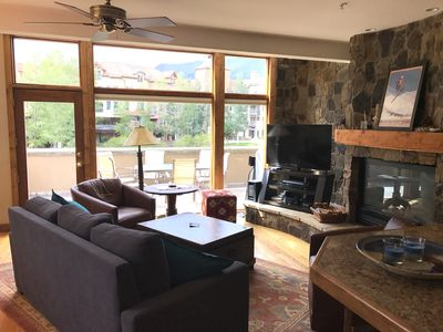 Photo for Condo in the core of Mountain Village, 3 Bedrooms, 3 Baths, (Sleeps 8-10)