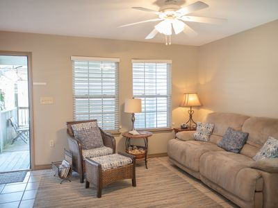 Photo for The Enclave: In Town, Close to Beach, Pet Friendly, Grill