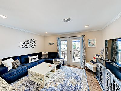 Photo for New Listing! Charming Duplex, 500' to the Beach - Recently Remodeled