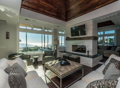 Living Area with Ocean Views on the 3rd Level at 18 Brigantine