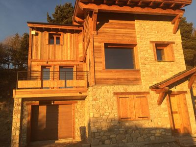 Photo for Nobel Chalet: Rare chalet Font Romeu downtown