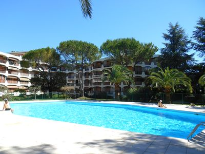 "Photo for Apartment ""Le Soleil d'Azur"" with swimming pool, near Cannes and beaches"