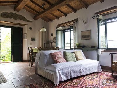 Photo for Fabulous Farmhouse on the Mugellane Hills near Florence. Feel the nature