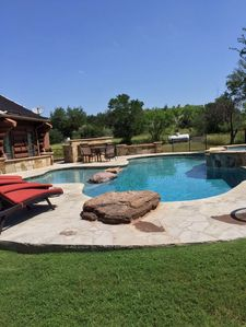 Photo for Two Story, 5 bedroom/4 ½ bath Sleeps 18-20 private pool/hot tub, Pet Friendly