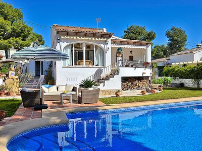 Photo for Vacation home El sueno de Jeanne-Marie in Moraira - 4 persons, 2 bedrooms