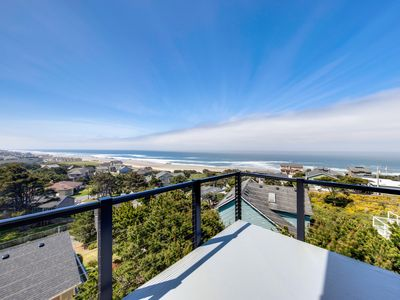 Photo for New home w/ unparalleled ocean views & private hot tub - dogs welcome!