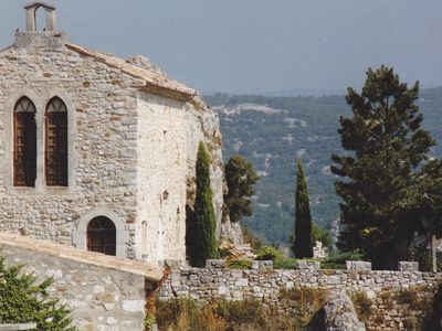 Photo for Restored Chapel of the 12th century overlooking the Ardeche.