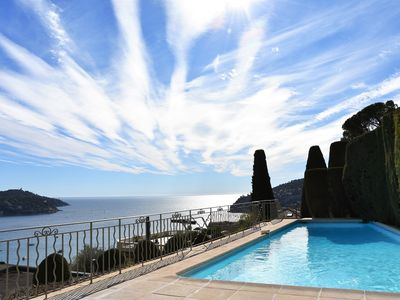 Photo for Beautiful Sea View & Pool / Pretty Terrace / 2 Bedrooms