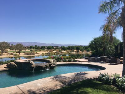 Photo for SPECIAL SUMMER RATE! ULTRA-PRIVATE MODERN PGA WEST OASIS OVERLOOKING LAKE