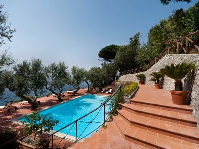 Photo for Elegant Luxury Villa with breathtaking views of Capri and the Bay of Naples