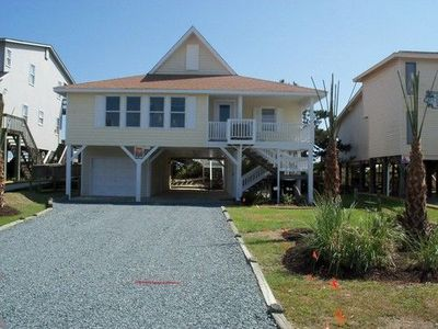 Photo for Oceanfront with Private Pool and Boardwalk to Beach!