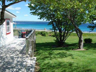 Photo for OCEANFRONT 2BR COTTAGE IN NOVA SCOTIA NEAR SANDY BEACHES, GOLF & SHOPS.