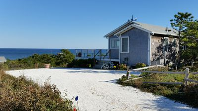 Photo for 2 wks avail. Charming 4 season ocean front cottage with sweeping Atlantic view