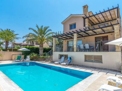 Photo for Villa Antiope is located in a lovely yet peaceful location, just under an hour away from Paphos. The