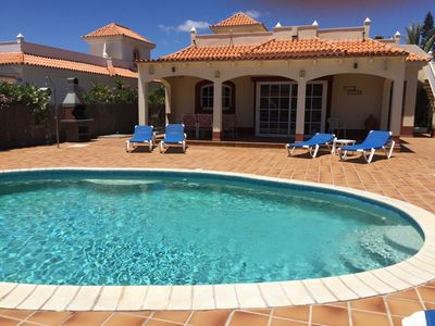 Photo for Villa Solana - Beautiful villa *private heated pool & hot tub in great location*