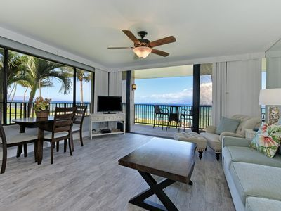 Photo for Beautiful Corner Ocean Front - Second Floor w/Wrap Around Lanai  - Full Remodel!
