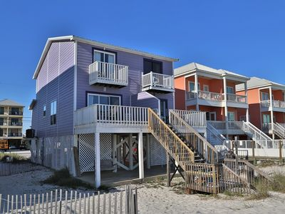 Photo for Oz Duplex: Toto / Beach Front directly on the beach Convenient Location / Free Wifi / SMART TVs