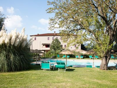 Photo for Tuscan farm near beach+pool, Cottage (1 Bedroom / Sleeps 5) direct from owner