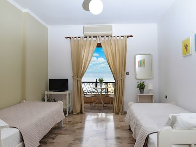 Photo for Fotopoulos Apartments, just 10 meters from the beach