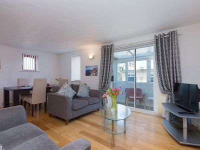 Photo for Coastguard View - Two Bedroom Apartment in St Ives with parking - Sleeps 4