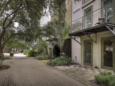 Photo for Beautiful Townhouse in the Heart of Seaside. Shops, Dining, and MORE! NEWLY FURNISHED!