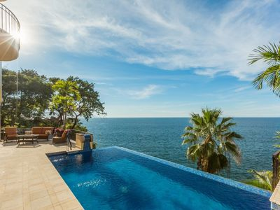 Photo for INCREDIBLE SPECIAL RATES **PLEASE ASK* Luxury 6 Bed Oceanfront Villa in Puerto Vallarta