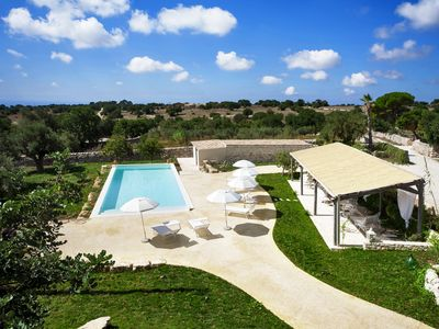 Photo for Wonderful Charming Villa with pool in the suggestive countryside near the sea,