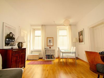 Photo for Apartment 1.2 km from the center of Vienna with Internet, Washing machine (30305)