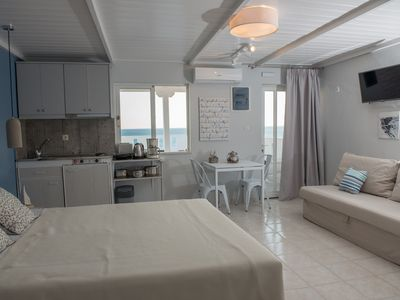 Photo for Golden Sun - Beautiful studio in a modern style with amazing sea view