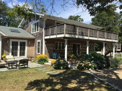 Photo for Katama/Edgartown Beautiful Home with Private Association Beach and Dock