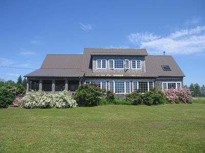 Photo for Heron Cove, a spacious beach house at water's edge.