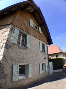 Photo for Small house and garden in the center of Duingt village 200 meters from the lake