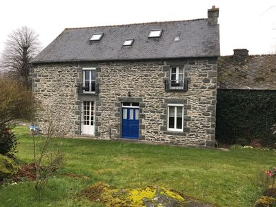 Photo for Old Granite Traditional House in Langourla, near Dinan and Lamballe