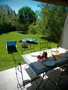 Photo for Mas des Sagnes Toros 6 people Terrace and garden