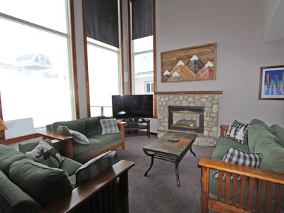 Photo for Deluxe 4 bedroom home- Ski in/ski out right at your doorstep- sleeps 12