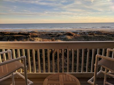 Photo for Newly Listed, Renovated 2019! OCEANFRONT TOP FLOOR UNIT A Place at the Beach