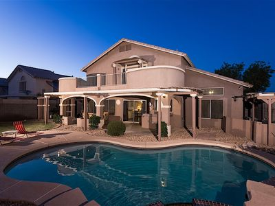 Photo for Montebello - Beautiful 5BR w/ Heated Pool & Spa. 1.5 Miles to Cardinals Stadium