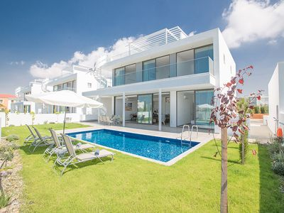 Photo for Villa Tessa, Brand New 4BDR Ayia Napa Villa with Pool, Short walk to Nissi Beach
