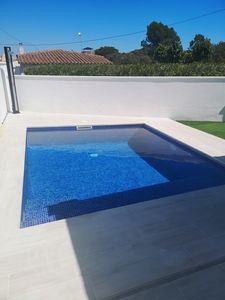 Photo for House with garden and private pool. 6 meter boat rental option.