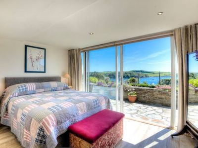 Photo for Unbelievable views from this outstanding apartment with a grandstand position over St Mawes