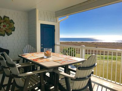 Photo for ALMOST HEAVEN - 3/2 Beachfront Condo with Gulf and Bay Views