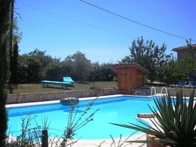 Photo for Holiday home with private pool and garden southern Ardeche