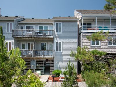 Photo for Maritime: This cozy two-bedroom townhome is super close to easy beach and ocean access in Corolla