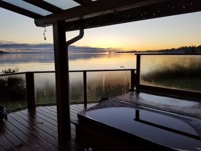 Photo for Waterfront Wonder! Epic Private Paradise Near Downtown Courtenay
